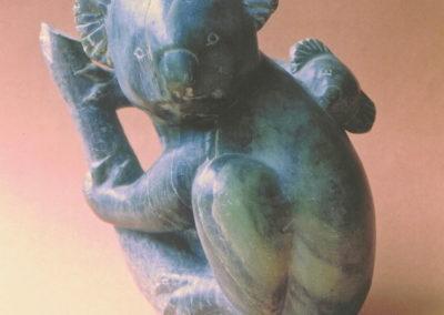 1972 Koala. Soapstone. 19cm high