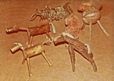 1982. Horses. Various Woods, Commissioned by Airlie Beach Village Resort