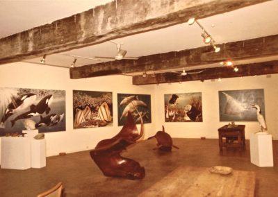 1985 Barry Stern Gallery. Exhibition with Peter Petrovic paintings ... Sydney NSW