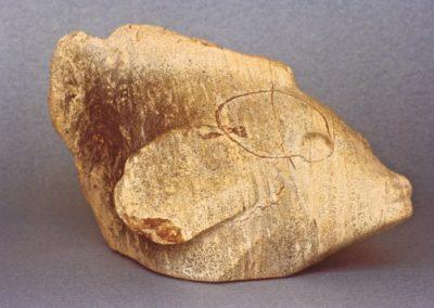 1985 Wrasse. Silkwood Steatite. 31cm long