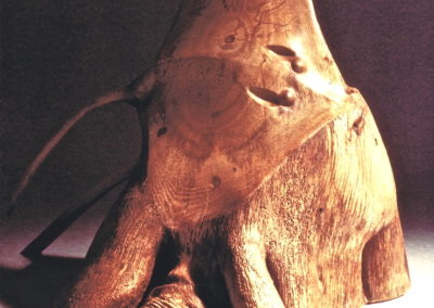 1986 Sting Rays. White Mangrove. 27cm high