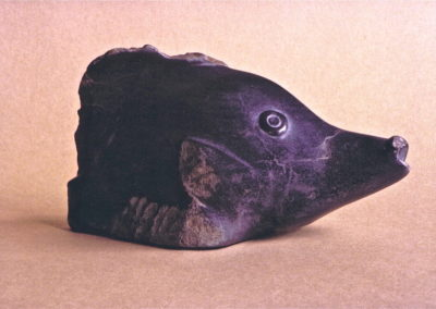 1986 Slingjaw Wrasse. Silkwood Soapstone. 27cm long