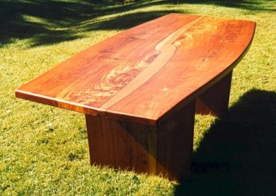 Mackay Cedar and Queensland Maple Boardroom Table. Commissioned