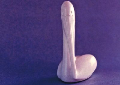 1987 Pelican. Chillagoe Marble. 17cm high
