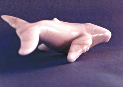 1988 Humpback Whale. Chillagoe Marble. 27cm long