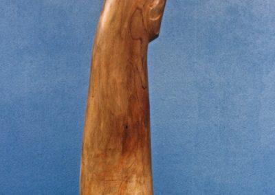 1988 Ravishing Rhonda. Red Cedar. 122cm high