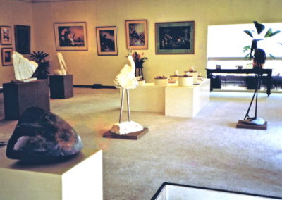 1988 Grafton House Gallery. Dual Exhibition with painter Cheryl Garrett, Cairns Qld