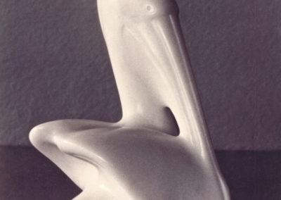 1989 Pelican. Chillagoe Marble. 14cm high