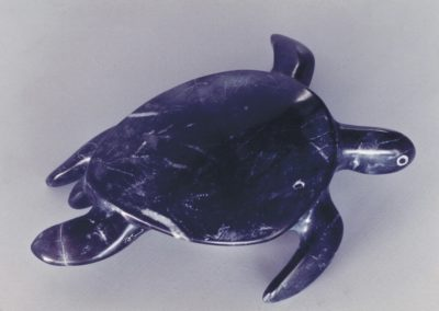 1989 Green Turtle. Chillagoe Marble. 22cm long