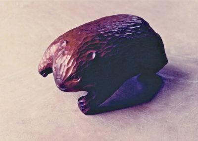 1990 Wombat. Burdekin Plum. 33cm long