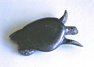 1992 Green Turtle. Chillagoe Marble. 28cm long