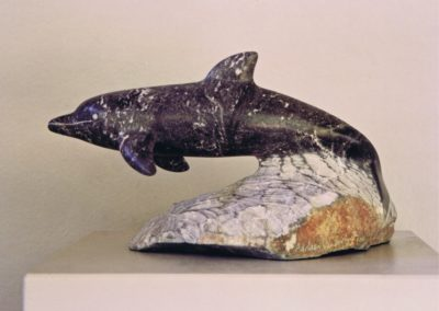 1992 Dolphin. Chillagoe Marble. 35cm long