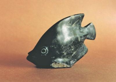 1993 Angel Fish. Chillagoe Marble. 10cm high