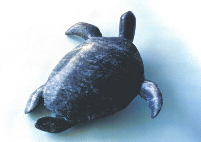 1993 Green Turtle. Chillagoe Marble. 35cm long
