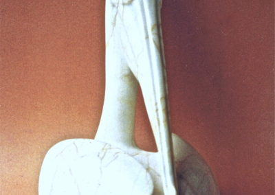 1995 Pelican. Chillagoe Marble. 43cm high