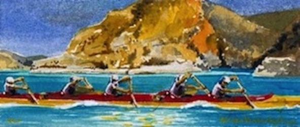 Hard Paddle at Pentecost
