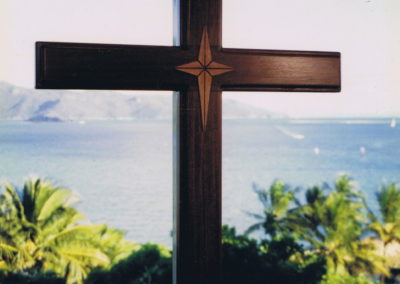 Hayman Island Chapel Cross. Commissioned
