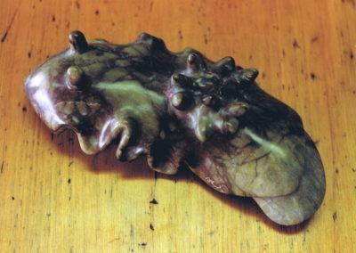 1995 Nudibranch. Kilkivan Marble. 29cm lon