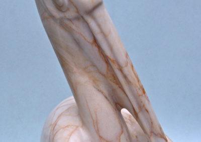 2005 Pelican Preen. Chillagoe Marble. 48cm high