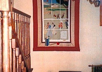 The Old Kilbride School Window Quilt 1983