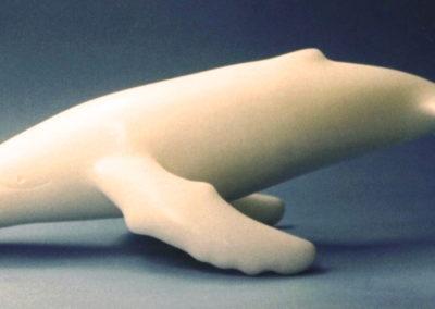 2005 Migaloo. Chillagoe Marble. 50cm long. Broken
