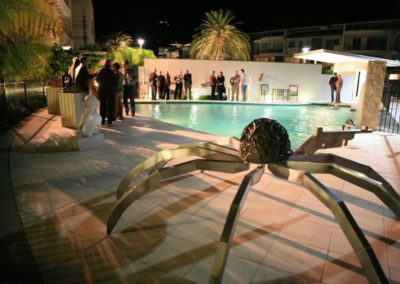 2008 Peninsula. 'Around the Pool' Solo Exhibition at Peninsula Apartments, Airlie Beach Qld