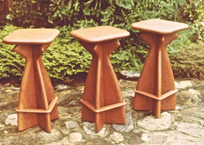 Blue Gum Stools. Commissioned
