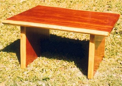 Mackay Cedar Coffee Table. Commissioned