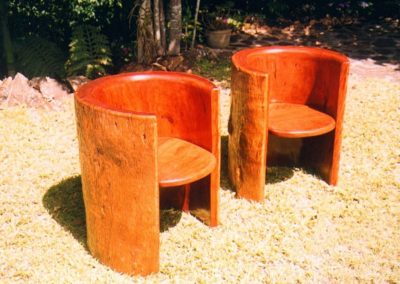 Blue Gum Tub Chairs