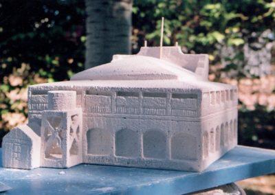 2008 Longreach Arts Centre. Hebel Stone, Longreach Qld. 30cm high