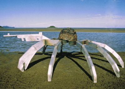 2005 Soldier Crab. Aluminium and Recycled Copper. 320cm long