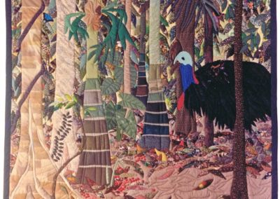 Red Berries in the Rainforest 1989
