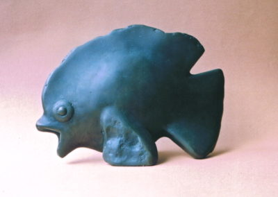 1983 Butterfly Fish. Bronze, Edition of 2. 25cm long