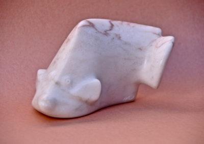 1987 Angel Fish. Chillagoe Marble. 15cm long