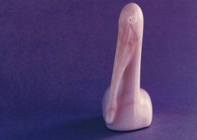 1987 Pelican. Chillagoe Marble. 19cm high