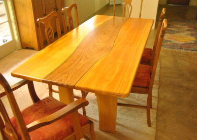 Huon Pine and White Cedar Table