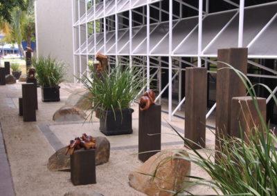 2013 Wildlife Installation. Mackay Entertainment Centre, Mackay Qld