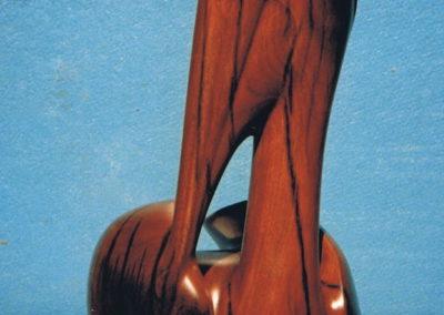 1996 Pelican. Burdekin Plum. Commissioned. 45cm high