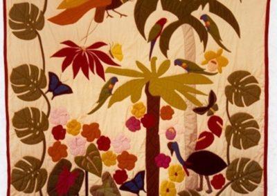 Jeannine's Tropical Quilt 1982