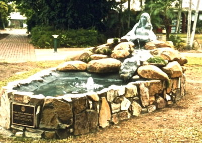 2005 Persephone Fountain. Commissioned by Proserpine Rotary Club for Persphone Fountain at the Entertainment CentreL.d Persephone 2005