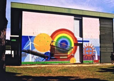 2006 Science Mural. Andergrove State School, Mackay Qld