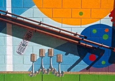2006 Science Mural. Detail