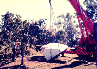 1988 Delivery of 6 tonnes of Chillagoe Marble